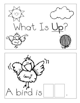 Level A Sight Word Reader-up