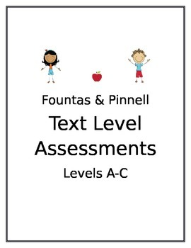 Level Assessments Binder Label