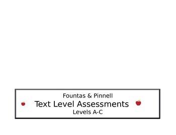 Level Assessments Side Binder Label