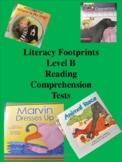 Level B Literacy Footprints Reading Comprehension Tests