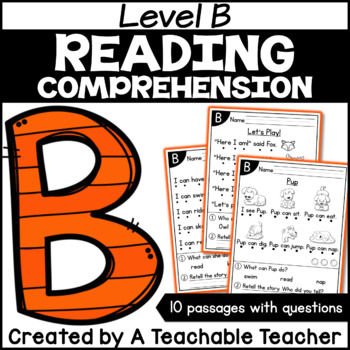 Level B Reading Comprehension Passages