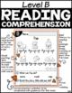 Level B Reading Comprehension Passages