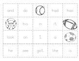 Level B Sight Word Making Sentences