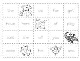 Level C Sight Word Making Sentences