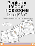 Level B and C Reading Passages