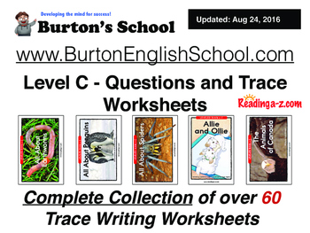 Level C - A toZ Readers - Reader Workskeets