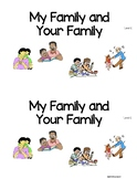 Level C Guided Reading Book Diverse Families *Valentine's Day integration w/Love