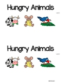 Hungry Animals Level C Guided Reading Book With Lesson Plans!