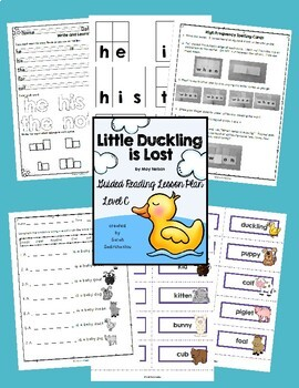 Level C Guided Reading Lesson Plans - Growing Bundle