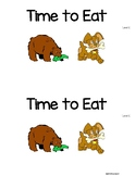 Level C Guided Reading book with Lesson Plans *Time to Eat (Animals)