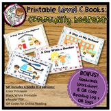 Printable Leveled Books for Kindergarten - Community Helpers Level C