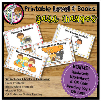 Level C Readers for Guided Reading - Fall Changes