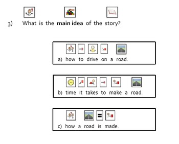 Level C (Reading A-Z Book) Modified Text & Comprehension