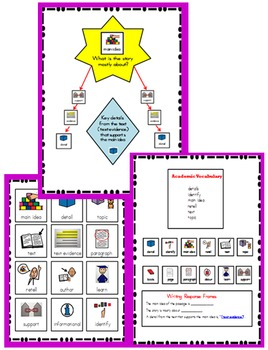 Level C (Reading A-Z) Modified text & Comprehension
