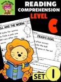 Level C Reading Comprehension Passages & Questions - SET 1