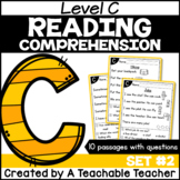 Level C Reading Comprehension Passages and Questions SET TWO