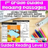 Level D Guided Reading Passages