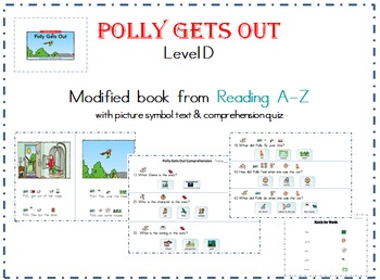 Level D - Polly Gets Out Book & Assessment - Modified