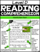 Level D Reading Comprehension Passages