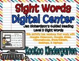 Level D Sight Words Digital Center (Jan Richardson Guided