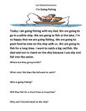 Distance Learning: Level E Reading Comprehension Bundle-4 Stories