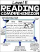 Level E Reading Comprehension Passages and Questions