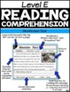 Level E Reading Comprehension Passages and Questions SET TWO
