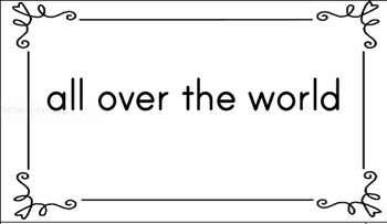 Level F Fluency Phrases