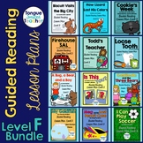Level F Guided Reading Lesson Plans Bundle