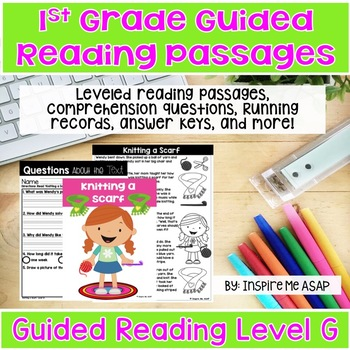 Level G Guided Reading Passages