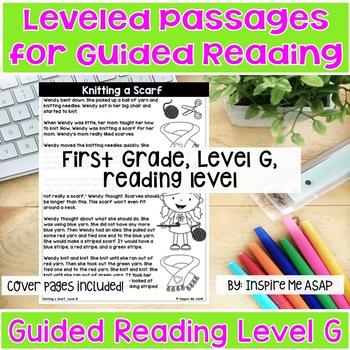 Reading Passages for 1st Grade Level G