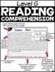 Level G Reading Comprehension Passages and Questions SET TWO