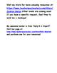 Level H Reading Strategies Checklist According to Fountas