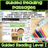 Reading Passages for 1st Grade Level I