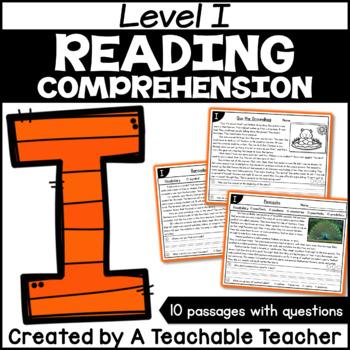 Level I Reading Comprehension