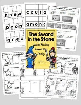 Level J Guided Reading Lesson Plans - Growing Bundle