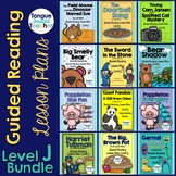 Level J Guided Reading Lesson Plan Bundle
