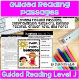 Level J Guided Reading Passages