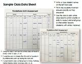 Level K Assessment Trackers - Editable