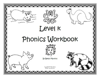 Phonics Workbook FUN Level K (2nd Edition)