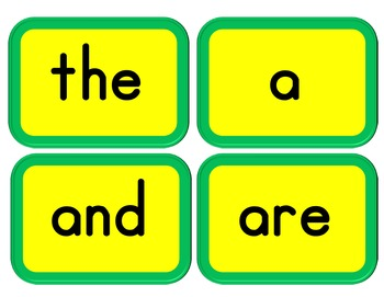 Level K Trick, Unit, Digraph, and Nonsense Words