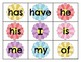 Level K Trick Word Cards Spring