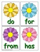Level K Trick Word Recognition Center or Whole Group Game for Spring