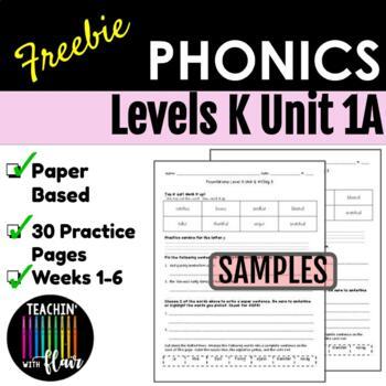 Level K Unit 1 FREEBIE