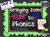 "Level K, Unit 3: Putting the FUN in ""Fun""dational Teaching! For Your SMARTboard!"