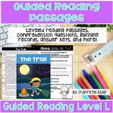 Level L Guided Reading Passages