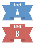 Level Labels for Book Baskets