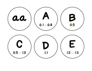 Level Labels for Organizing Book Baskets for Reader's Workshop {black & white}