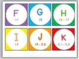 Level Labels for Organizing Book Baskets for Reader's Workshop