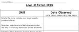 Level M Fiction Skills Checklist